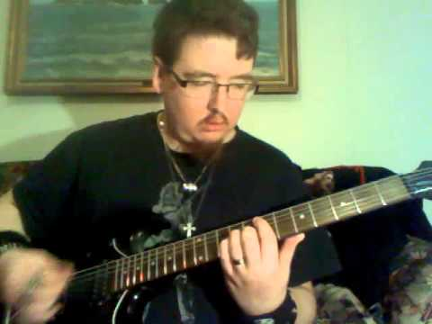 me showing you HOW TO PLAY 'TIED MY HANDS' by SEETHER on GUITAR LIVE VERSION