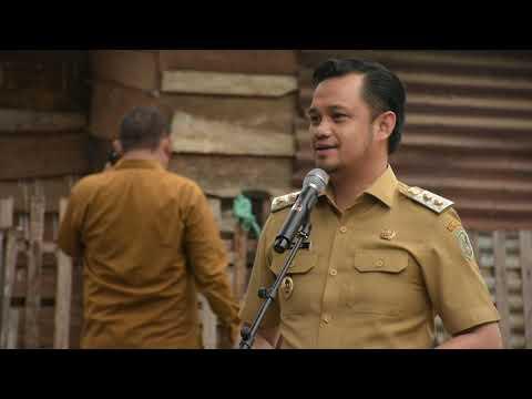 Wakil Walikota Gorontalo Resmikan Rumah Layak Huni