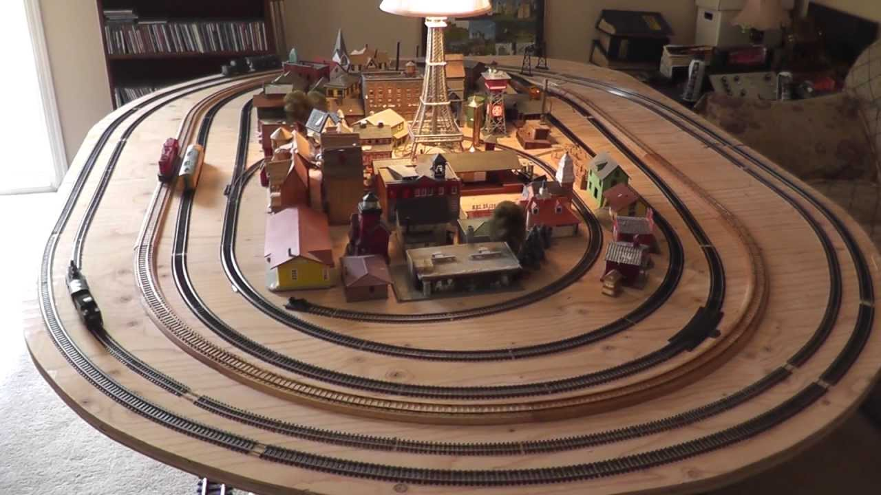An Awesome Ho Train Table Layout Japan Brass G Scale Hon3