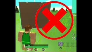 Can you win without building? Roblox Island Royale!