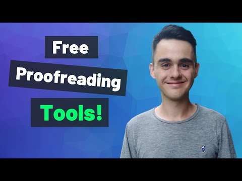 Proofreading Tips & Tools (Free)