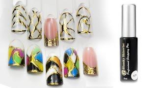 Дизайн ногтей шинерлаками (BlueSky Shinerlac) Автор Елена Дзык