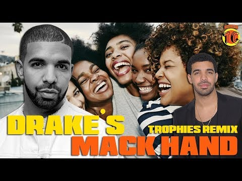 Drake a.k.a Canada Dry Macking Hand and Trophies Remix