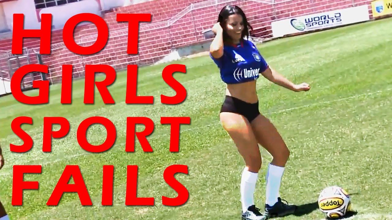 Ultimate Hot Girls Sport Fails #2    VidsChimp