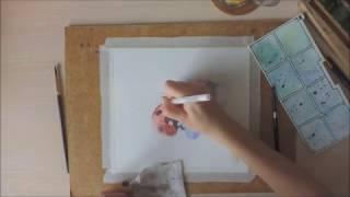 Урок по акварельной живописи
