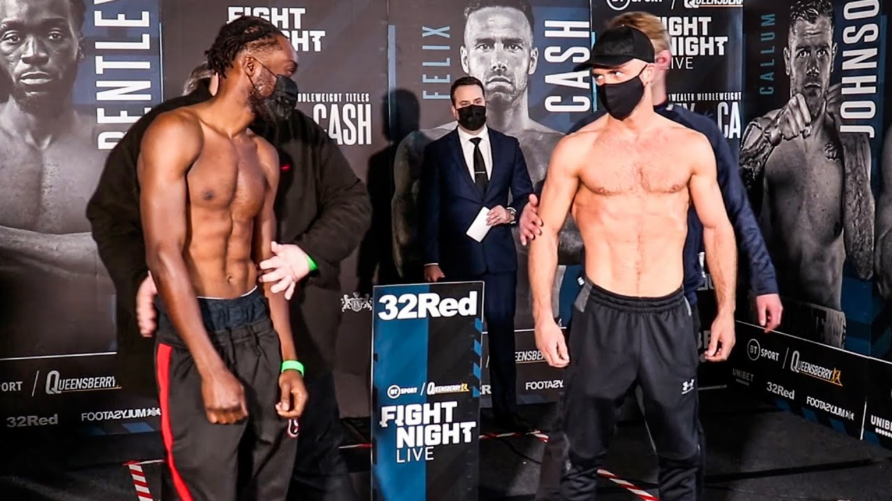 Denzel Bentley Vs Felix Cash Weigh-In| Frank Warren &Amp; Bt Sport Boxing - Youtube