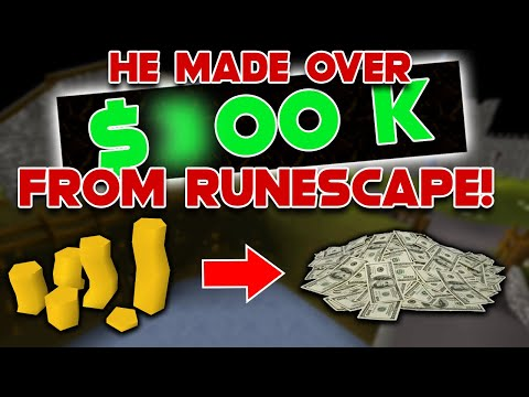 How He Made $100,000 Dollars From Runescape Swapping (OSRS)
