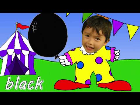 The Balloon Song | Learn Colors