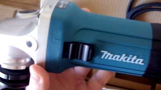 makita GA5030R (2017 edition) Unboxing and Start