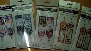 """Обзор наборов-закладок для вышивки бисером от """"Абрис Арт"""""""