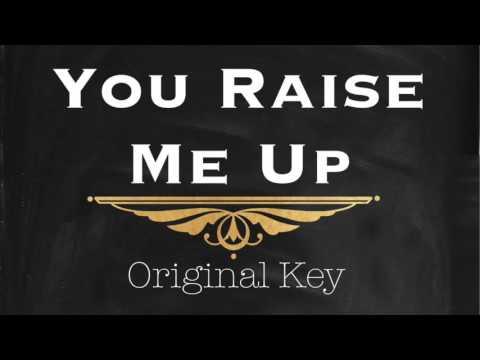 Josh Groban - You Raise Me Up (Instrumental Piano Track) Original Key