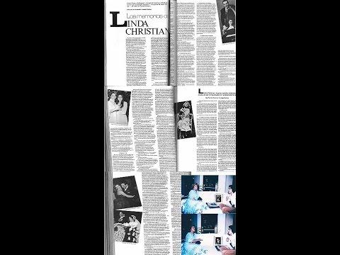 Linda Christian entrevista por Waldemar Verdugo Fuentes, VOGUE