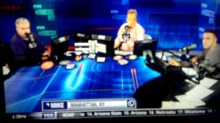 Mike francesa pranks Michael kay