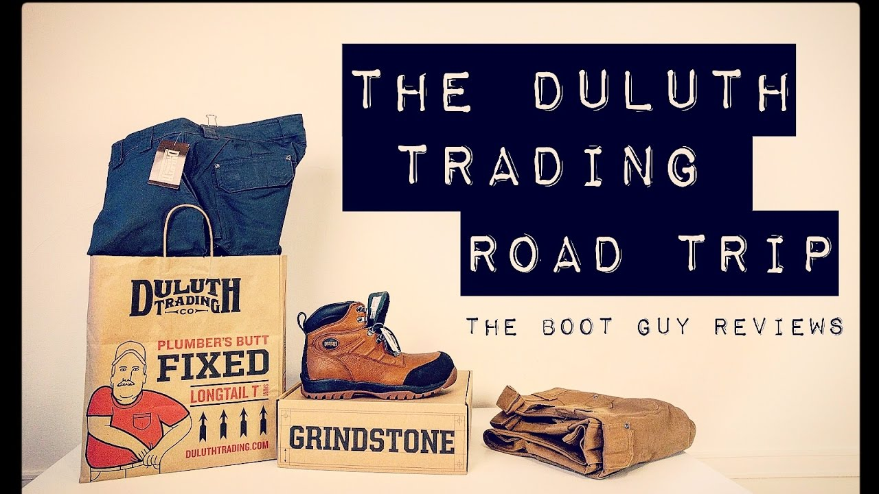 The Duluth Trading Road Trip   The Boot Guy Reviews   - YouTube b51d9af51cf