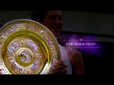 Wimbledon Nova Sport - Trofej