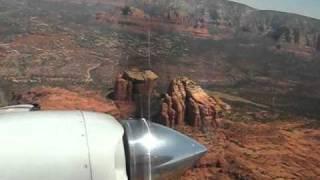 Aerostar 601P Flight Sedona AZ