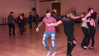 ERNESTO BULNES & ANTONIO DOZA SALSA DANCE AT SEATTLE SALSA CONGRESS 2018
