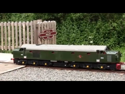 Echills Wood Railway (EWR)'Standard Gauge locomotive Gala Weekend'(17.06.2012):