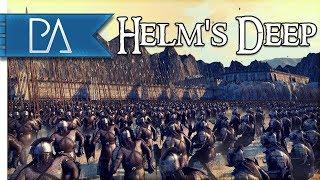 SIEGE OF HELM'S DEEP: NEW CUSTOM MAP - Total War: Rise of Mordor Mod Gameplay