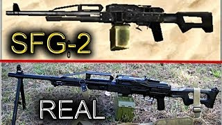 Special Forces Group 2 Guns In Real Life !! [HD]