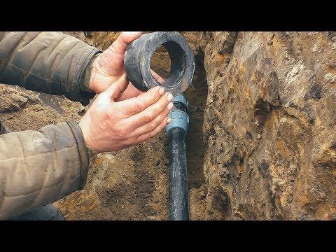 🔵Ремонт водопроводной пластиковой трубы