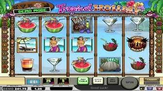 Free Tropical Holiday slot machine by Play'n Go gameplay ★ SlotsUp