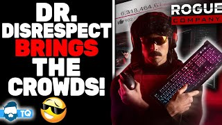 Dr Disrespect Haters DESPERATE For Fall But HUGE New Sponsor Signs & Record Numbers Continue