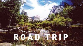 American Road Trip - West Coast, California - GoPro Hero 4 Black - Full