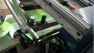 Шелкотрафаретная полуавтоматическая линия SATURN(, 2012-03-12T12:15:23.000Z)