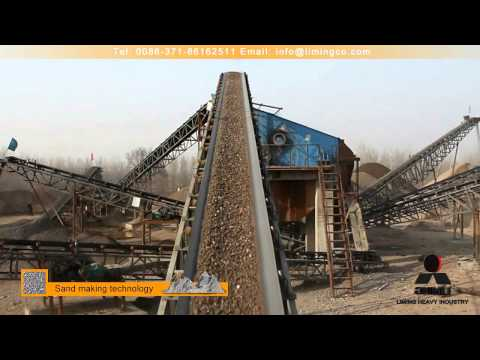Stone Crushing line in Henan Province,Central China
