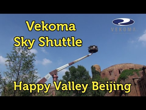Vekoma Sky Shuttle @ Happy Valley in Chaoyang, Beijing, China