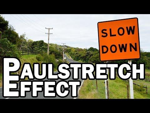 Extreme Slowdown in Audacity with Paulstretch