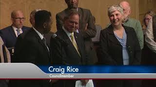 Gambar cover Council President Roger Berliner Recognizes Sue Kirk, Executive Director of Bethesda Cares