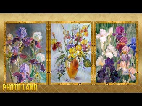 Ирисы в картинах художников    PHOTO LAND (ирисы, ирисы картины художников, ирисы видео)