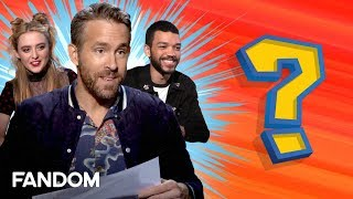 Ryan Reynolds Creates New Pokemon with Detective Pikachu Cast