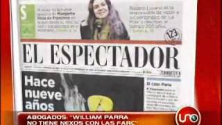 Abogado de William Parra dice que no hay pruebas de sus nexos con las FARC