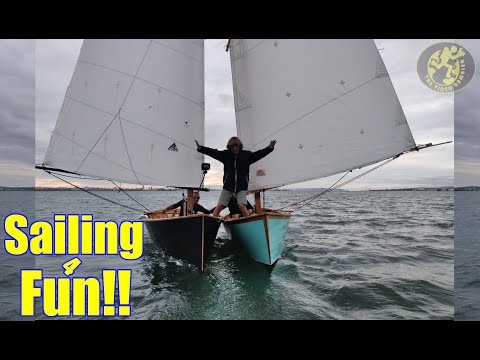 Sailing for Fun!! That's what Dinghy Sailing is all about!