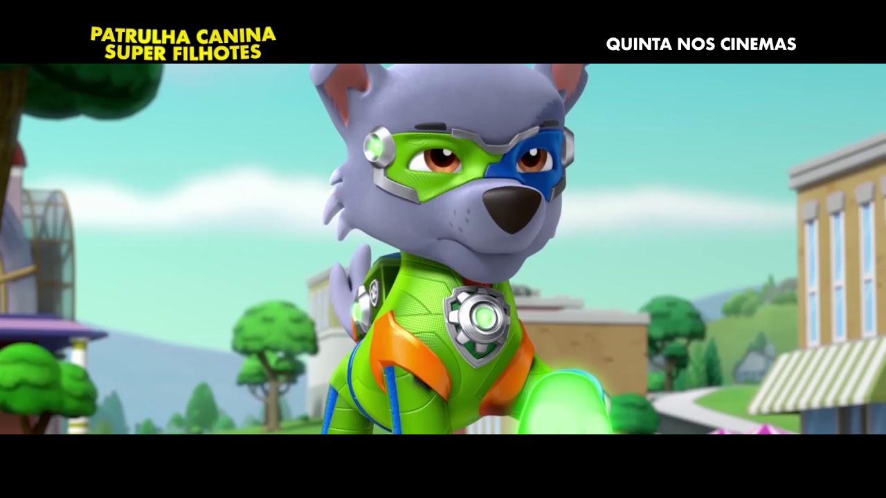 Patrulha Canina Super Filhotes Spot 30 Dublado Quinta Nos