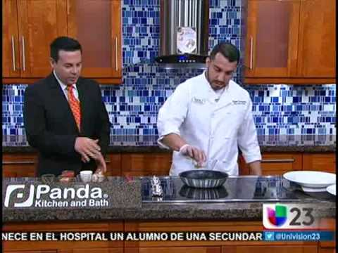 Chef Rocky From BRIO Tuscan Grille At The Falls Demonstrates Signature Dishes For Miami Eats