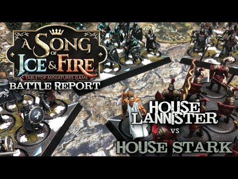 A Song of Ice and Fire Battle Report  Ep 05  The Battle of Whispering Woods