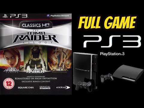 (PS3) Tomb Raider: TRILOGY HD Remastered 100% ALL SECRETS NO COMMENTARY