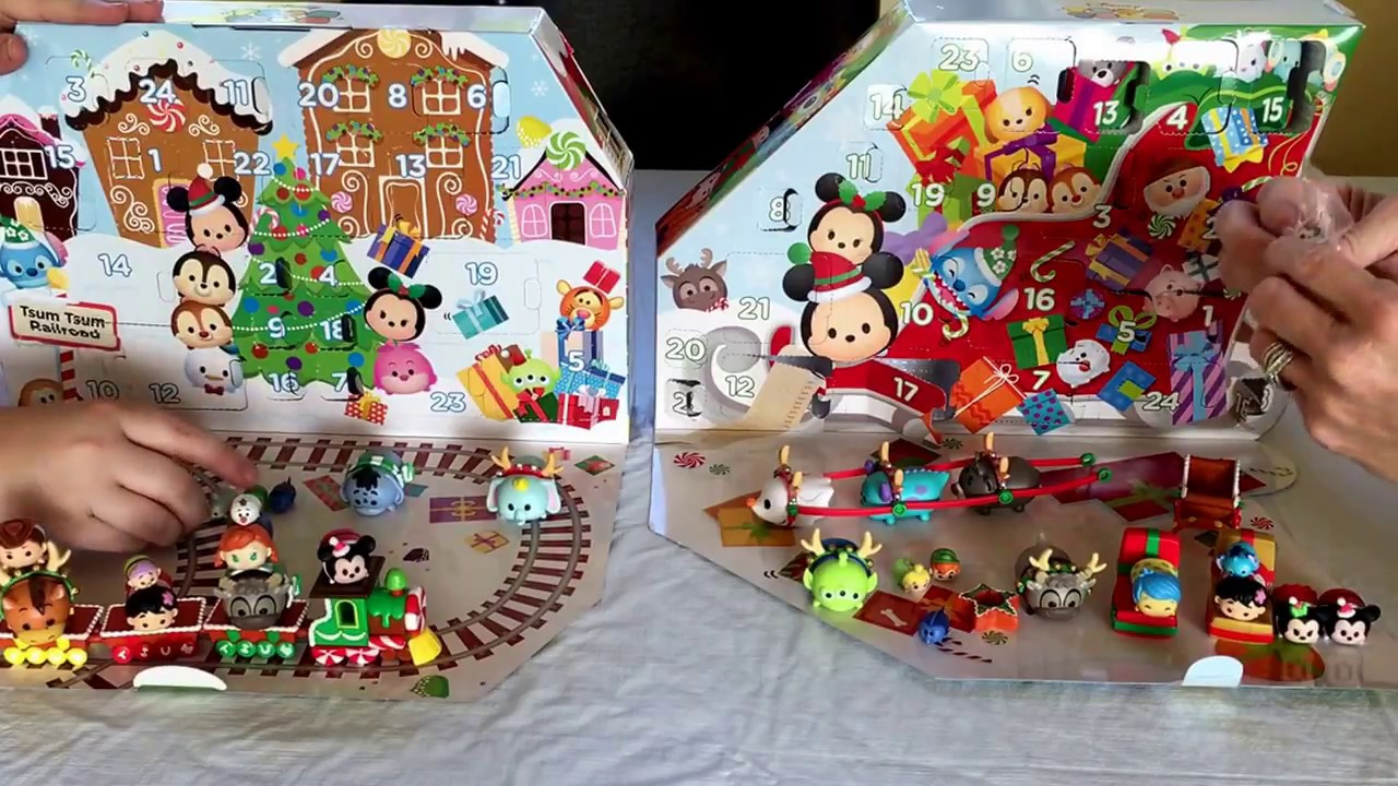tsum tsum advent calendars 2017 comparison of toys r us and target exclusive - Target Christmas Toys
