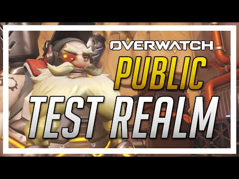Overwatch News - Public Test Realm , Ranked Competitive mode and more