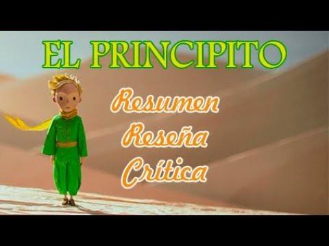 EL PRINCIPITO: Resumen/Reseña/Crítica - YouTube