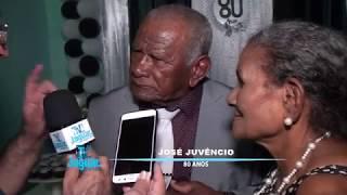 José Juvêncio festejou seus 80 anos de vida ao lado dos familiares e amigos