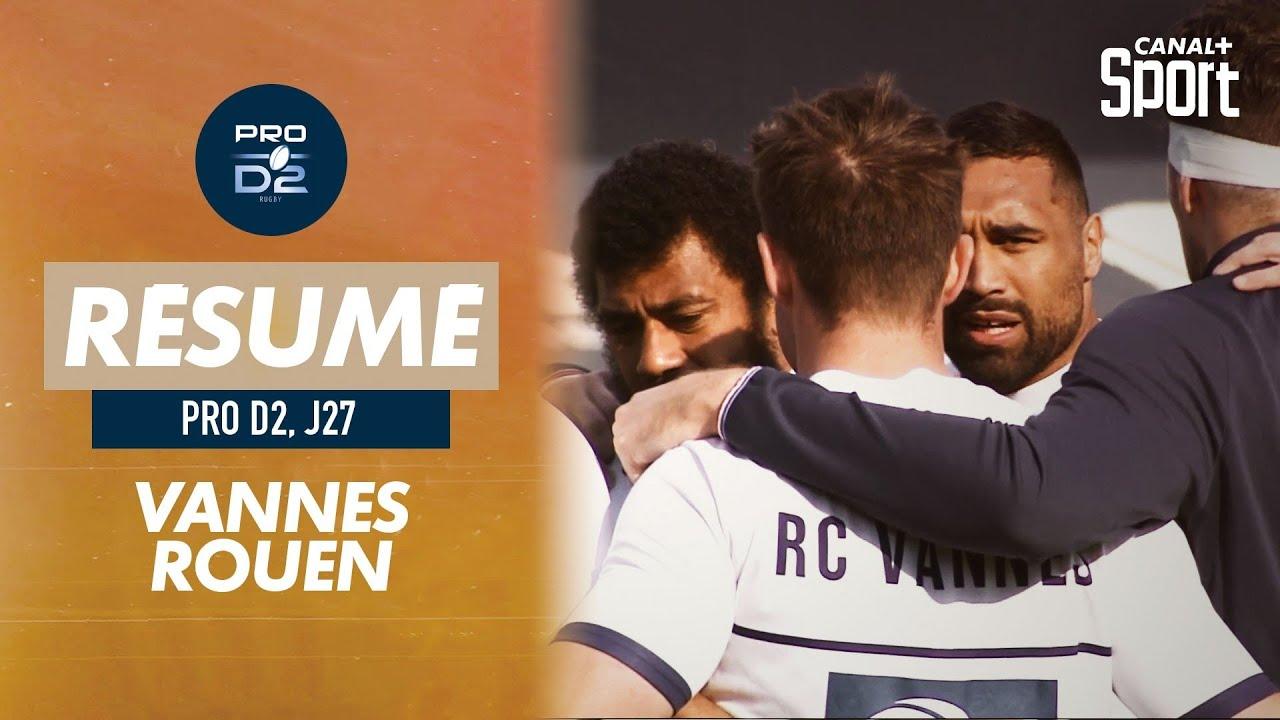 Download Le résumé de Vannes / Rouen - Pro D2 (J27)