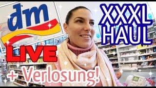 XXXL LIVE DM HAUL! Ganzer Einkaufswagen ist voll! + VERLOSUNG ♡