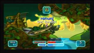 Worms: Battle Islands Wii - Wi-Fi Match #1 (05-01-11)