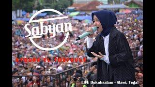 Gambar cover SABYAN GAMBUS - ATOUNA EL TOUFOULE   LIVE Dukuhsalam, Slawi.
