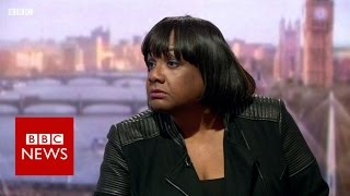 Diane Abbott on Labour, Brexit and immigration - BBC News